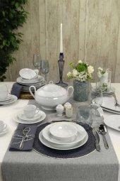 Kütahya Porselen Lalezar 83 Prç.yemek Takımı Seti