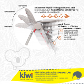 Kiwi Koala Plus Mama  Sandelyesi_KW-4030-7