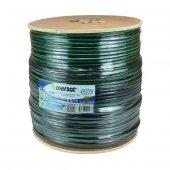 Rewel Rg6 U6 Cu Cu Bakır Yeşil Anten Kablo 300...