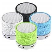 ışıklı Mini Bluetooth Hoparlör, Taşınabilir Kablosuz Ses Bombası 450009