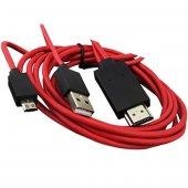 Micro Usb S3 S4 Hdmı Tv Bağlantı Kablosu 249021...