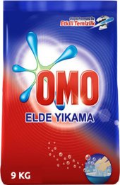 Omo Çamaşır Deterjanı Elde Yıkama 9 Kg Toz