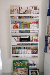 Montessori Çocuk Odası Eğitici Kitaplık