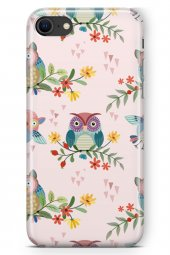 Apple iPhone SE 2020 Kılıf Owl Serisi Amy