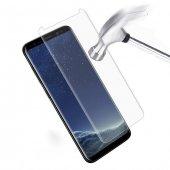 Samsung Galaxy S8 Kavisli Ekran Koruyucu Şeffaf