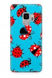 Samsung Galaxy S9 Kılıf Ladybug Serisi Eden