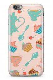 Apple İphone 6 6s Kılıf Tea Time Serisi Angela