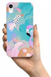 Apple iPhone XR Kılıf Jungle Serisi Natalia-3