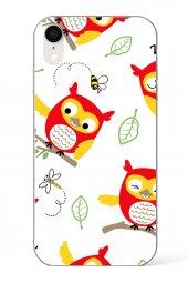 Apple İphone Xr Kılıf Owl Serisi Elise