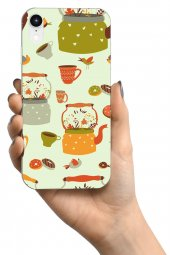 Apple iPhone XR Kılıf Tea Time Serisi Elliana-3
