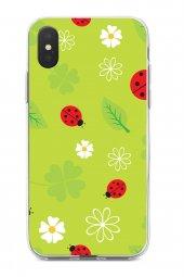Apple iPhone XS Kılıf Ladybug Serisi Iris