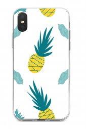 Apple iPhone XS Max Kılıf Pineapple Serisi Aubrey