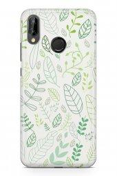 Huawei P20 Lite Kılıf Leaf Serisi Trinity