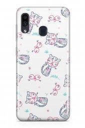 Samsung Galaxy A30 Kılıf Kitty Serisi Andrea
