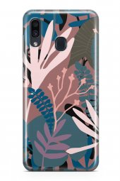 Samsung Galaxy A30 Kılıf Leaf Serisi Kimberly