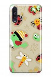 Samsung Galaxy A50 Kılıf Ladybug Serisi Rose