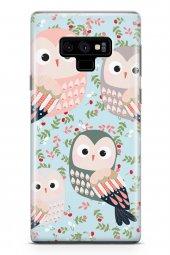 Samsung Galaxy Note 9 Kılıf Owl Serisi Daisy
