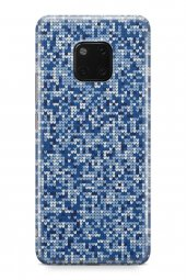 Huawei Mate 20 Pro Kılıf Kamuflaj Serisi Scarlett