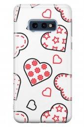 Samsung Galaxy S10e Kılıf Pink Love