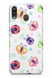 Samsung Galaxy M20 Kılıf Ladybug Serisi Norah