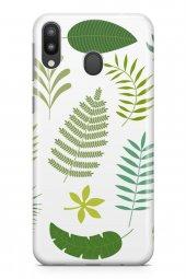 Samsung Galaxy M20 Kılıf Leaf Serisi Lilly