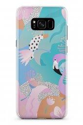 Samsung Galaxy S8 Kılıf Jungle Serisi Natalia