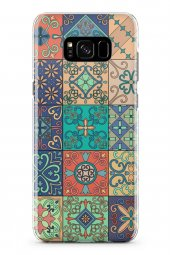Samsung Galaxy S8 Kılıf Patchwork Serisi Alaina