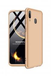 Samsung Galaxy M20 Kılıf 360 Gold