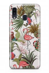 Samsung Galaxy A40 Kılıf Jungle Serisi Alexandra