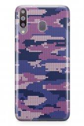 Samsung Galaxy M30 Kılıf Kamuflaj Serisi Mia