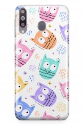 Samsung Galaxy M30 Kılıf Owl Serisi Harmony