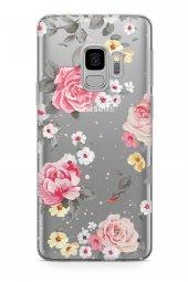 Samsung Galaxy S9 Kılıf Şeffaf Rosie Serisi Blake