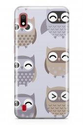 Samsung Galaxy A10 Kılıf Owl Serisi Molly