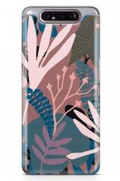 Samsung Galaxy A80 Kılıf Leaf Serisi Kimberly