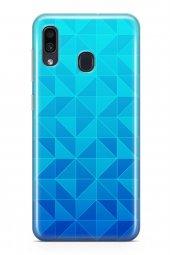 Samsung Galaxy A30 Kılıf Triangle Serisi June