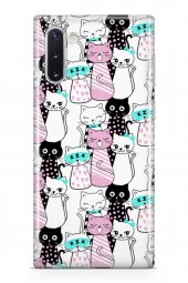 Samsung Galaxy Note 10 Kılıf Kitty Serisi Raelynn