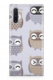 Samsung Galaxy Note 10 Kılıf Owl Serisi Molly
