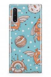 Samsung Galaxy Note 10 Kılıf Space Serisi Rowan