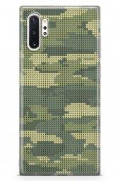 Samsung Galaxy Note 10 Plus Kılıf Kamuflaj Serisi Isabella