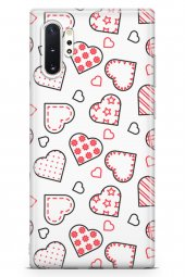 Samsung Galaxy Note 10 Plus Kılıf Love Serisi Pink