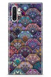 Samsung Galaxy Note 10 Plus Kılıf Patchwork Serisi Genevieve