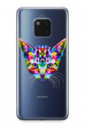 Huawei Mate 20 Pro Kılıf Wild Life Serisi Raelyn