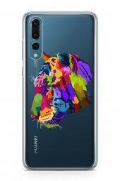 Huawei P20 Pro Kılıf Wild Life Serisi Annie