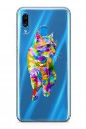 Samsung Galaxy A40 Kılıf Wild Life Serisi Kali