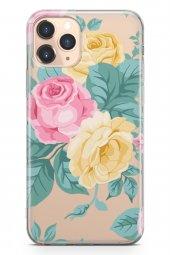 Apple İphone 11 Pro Max Kılıf Şeffaf Rosie Serisi Olive