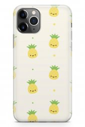 Apple iPhone 11 Pro Max Kılıf Pineapple Serisi Hannah