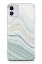 Apple İphone 11 Kılıf Sweet Dreams Serisi Duman Mavi