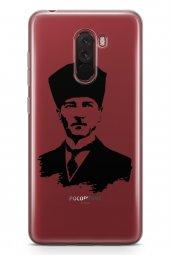 Xiaomi Pocophone F1 Kılıf Atatürk Serisi Ata