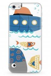 Apple İphone 5 Kılıf Fishie Serisi Emilia