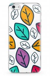 Apple iPhone 5 Kılıf Leaf Serisi Valeria